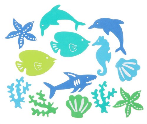 Darice Foam Stickers 5-Ounce, Under The Sea