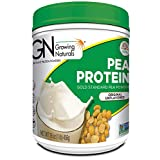 Growing Naturals Pea Protein Powder, Original, Non-GMO, Vegan, Gluten-Free, 16 Ounce