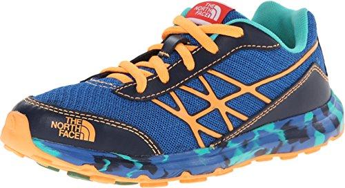 The North Face Kids Boy's Ultra (Little Kid/Big Kid) Snorkel Blue/Vitamin C Orange Sneaker 4.5 Big Kid M