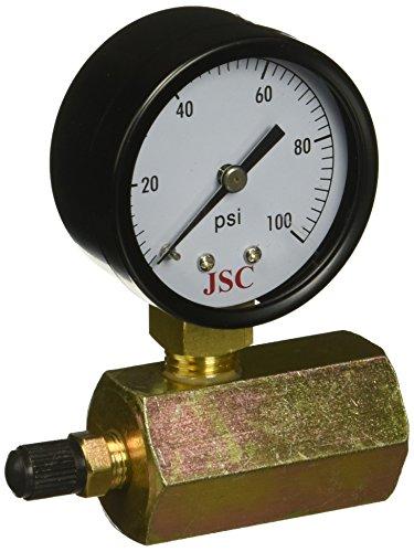 Jones Stephens G64100 100 PSI Gas Test Gauge Assembly