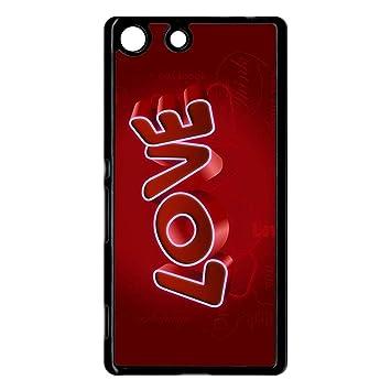 Carcasa Sony Xperia M5 diseño Love 3d: Amazon.es: Electrónica