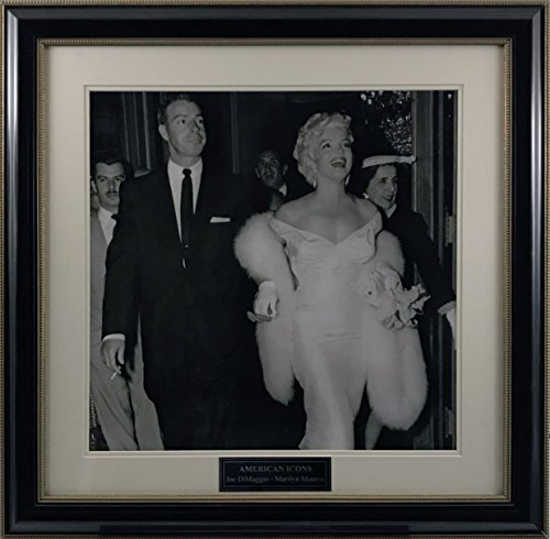 - Joe DiMaggio & Marilyn Monroe Framed 20x20 Photo