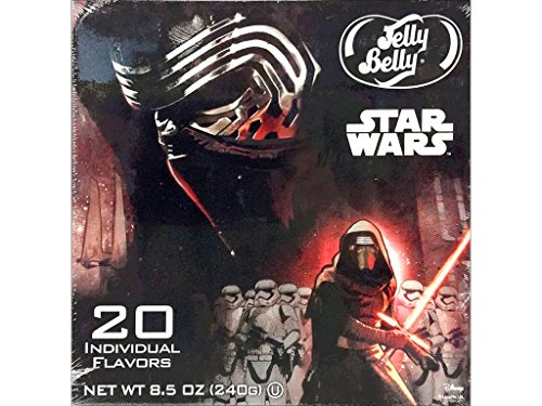 Jelly Belly Candy Clover JLB64836 Jelly Belly Gift Box 20 Flavor Star Wars VII (Star Wars Candy)