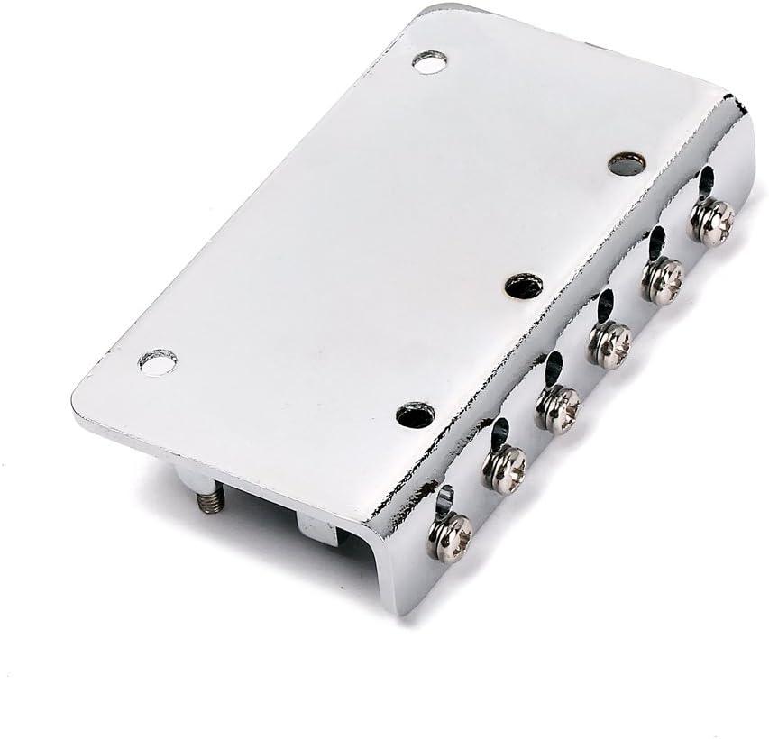 Unbekannt Non-brand Verchromte 6 String Elektrische LAP Steel Guitar Steuerplatte W//Bridge Set