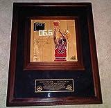 Michael Jordan Game Used Signed Chicago Bulls Basketball Finals Floor #8/23 - Upper Deck Certified - Autographed Game Used NBA Floorboards