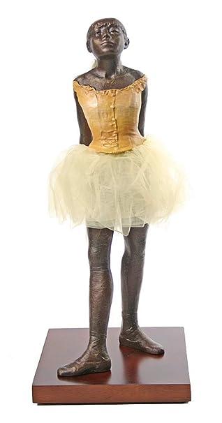 Amazon.com  Parastone Degas Fourteen Year Old Little Dancer Ballerina with  Tutu Fabric Skirt de7dc555a9b91