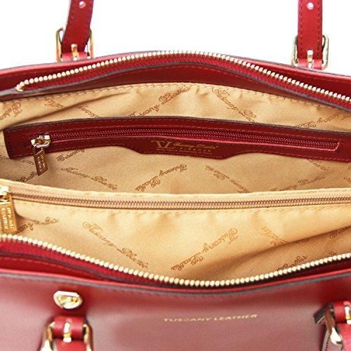 Tuscany Leather Aura Borsa a mano in pelle Rosso Rosso Guay Ofertas En Línea Barato Barato El Más Barato Aclaramiento Más Barata Stockist Geniue Salida 8enZzU49