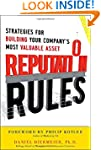Reputation Rules: Strategies for Buil...