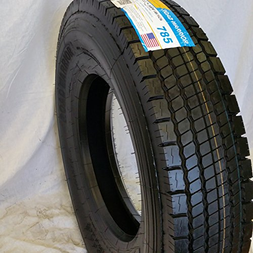 Cheap (4- TIRES) 11R22.5 ROAD WARRIOR NEW DRIVE TIRES 16 PLY - PREMIUM QUALITY