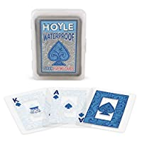 Deals on Hoyle Waterproof Clear Playing Cards
