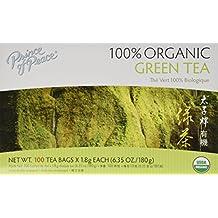 Prince of Peace Organic Green Tea 100 Tea Bags - 2 pack