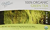Prince of Peace Organic Green Tea 100 Tea Bags - 2 pack