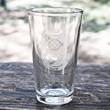 16oz Army Diver Badge Beer Glass