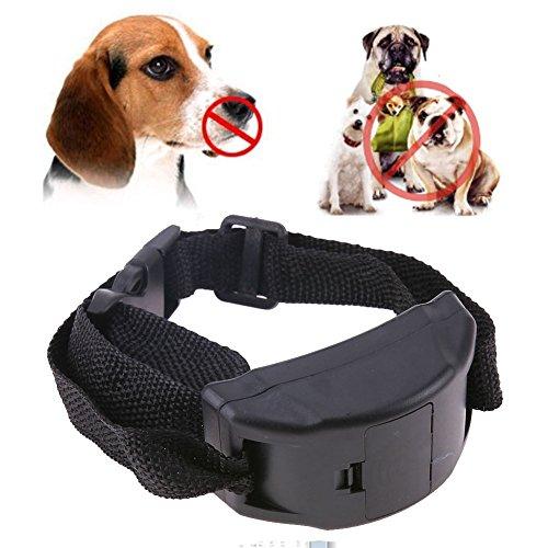 (Cacys-Store - Anti Bark Pet Dog Training Collar Vibration Shock Electronic Pet Trainer Control Dog Supplies )
