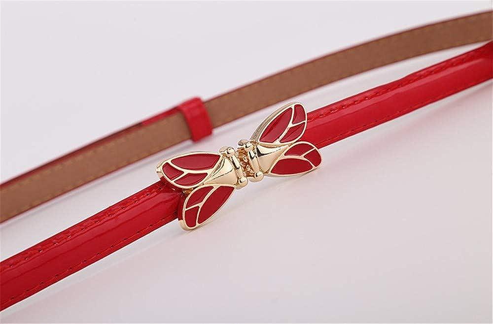 WomenS Belt Fashion WomenS Decorative Tiny Belt Butterfly Belt Belts