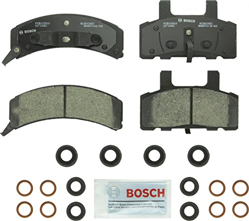 Bosch BC369 QuietCast Premium Ceramic Front Disc Brake Pad Set ()