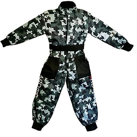 M 7-8 Yrs /& Gloves Leopard LEO-X16 Orange Kids Motocross Motorbike Helmet /& Goggles /& Camo Motocross Suit Jacket S 5cm S 49-50cm