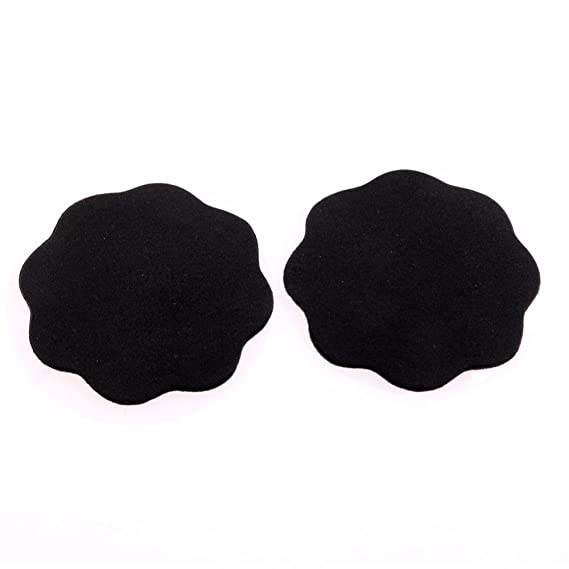Yoli - Sujetador adhesivo - para mujer negro Flor Negro Talla única