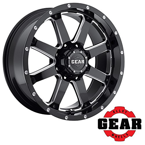 Gear Alloy 726MB BIG BLOCK Wheel with Milled Finish (20x10