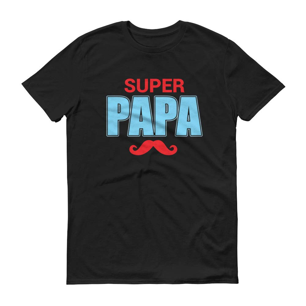 T Shirts And Print S Super Papa Novelty Fathers Day Dad Gift Graphic Humor Tshirt