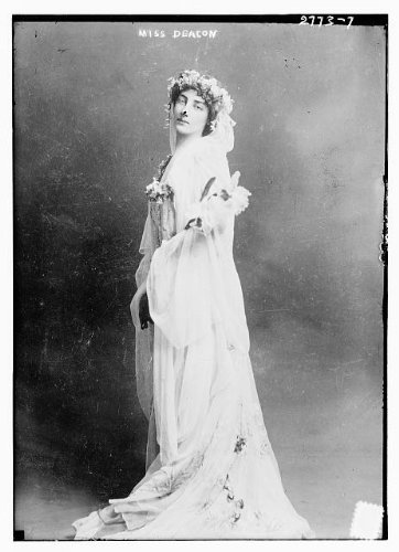HistoricalFindings Photo: Miss Deacon,Dorothy Parker Deacon,1892-1960,Princess Radizwill,married in 1910