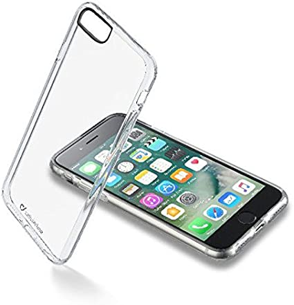 Cellularline Clear Book - iPhone 7 Custodia a libro rigida con