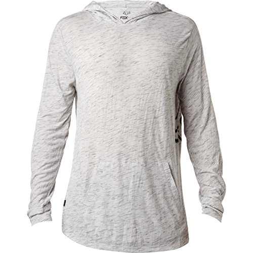 Fox Racing Hooded Knit Jacket - Men's Heather Grey, XL