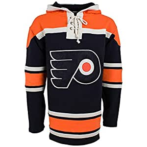 Philadelphia Flyers Heavyweight Jersey Alternate Lacer Hoodie - Size X-Large
