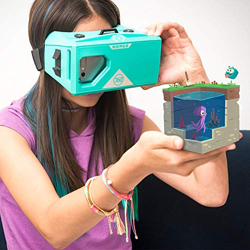 MERGE Cube & Headset Bundle for VR/AR STEM Learning & Mobile Gaming by MERGE (Image #7)