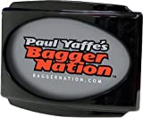 Paul Yaffe Originals CVO Universal Stealth III License Plate Frame - Gloss Black USLP-B