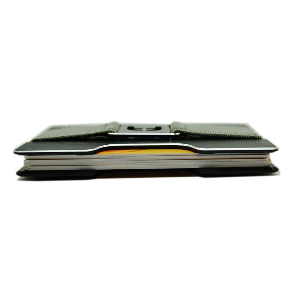 Pacer Go Minimalist Credit Card Holder Slim Aluminum Wallet RFID Blocking