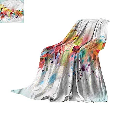 homehot Soft Blanket Queen Eye,Abstract Modern Doodle Art 60