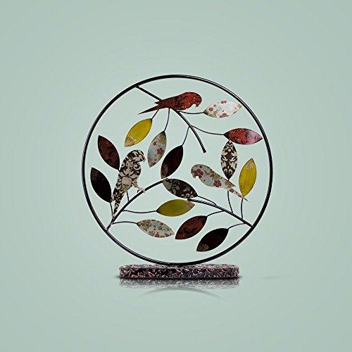 E2 Decorative Figural Birds and Leaves - Multicolor by E2
