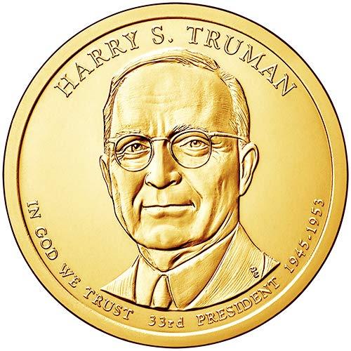 2015 D Position B BU Harry S. Truman Presidential Dollar Choice Uncirculated US Mint (Dollar Truman)