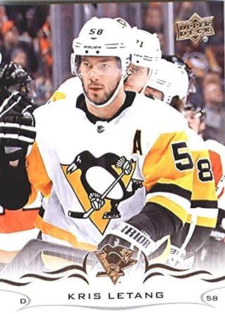 check out 06bf3 940b9 Amazon.com: Hockey NHL 2018-19 Upper Deck #144 Kris Letang ...