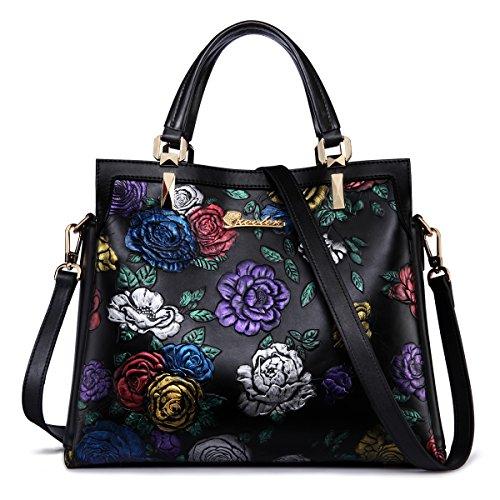 ZOOLER Leather Handbags Purses for Women Ladies Satchel Crossbody Handbags Tote … by ZOOLER