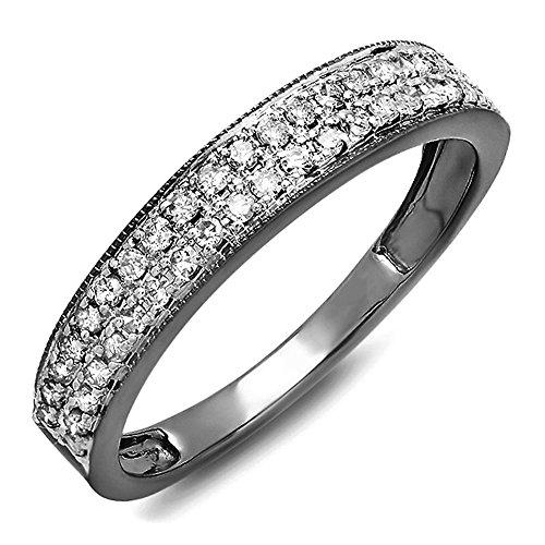 0.33 Ct Diamond Band - 7