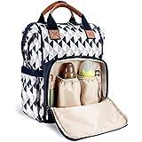 Diaper Bag Backpack by HYBLOM, Waterproof Multi-Function...