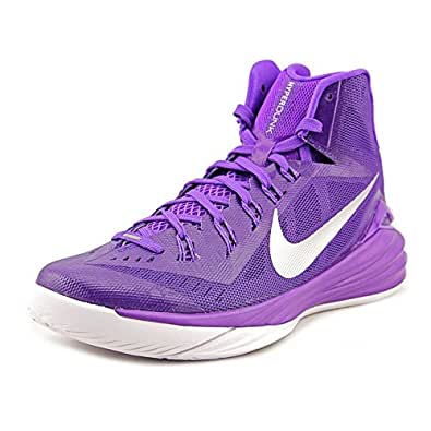 Nike Men's Hyperdunk 2014 TB Basketball Shoes-Court Purple/Metallic Silver-7