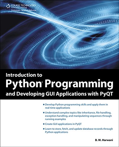 Book cover of Introduction to Python Programming and Developing GUI Applications with PyQT by B. M. Harwani