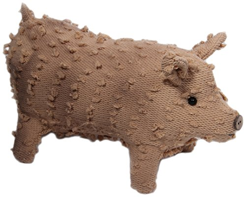 Craft Outlet Chenille Pig Figurine, 10-Inch