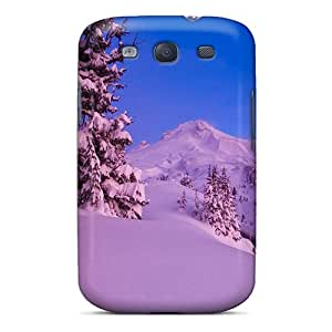SBS3561bdLn Anti-scratch Case Cover S.N.H Protective A Pink Winter Case For Galaxy S3