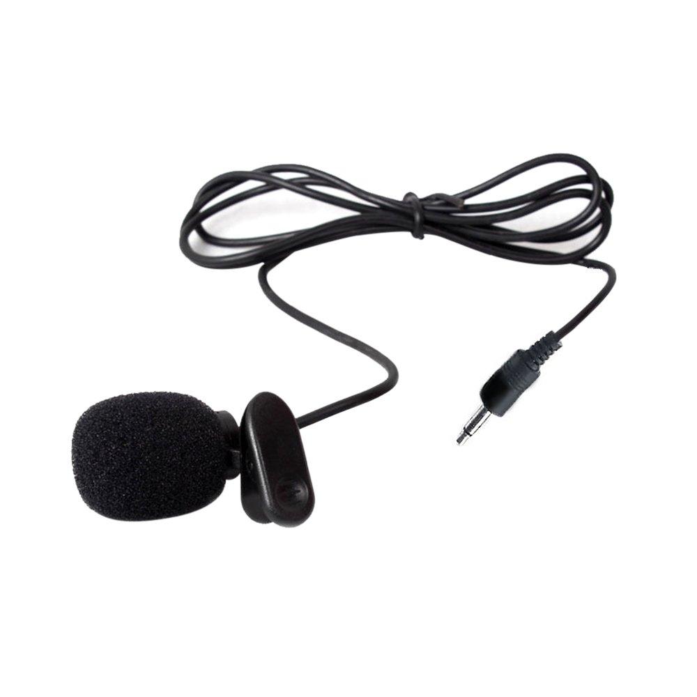 vevice Clip Mikrofon Lehrer Kopfbügel Revers Weizen Teaching Guide Mikrofon Reverskragen Brust Mikrofon Headset Mikrofon Klein Bee Halsband Clip Mikrofon Krawattenklammer Mikrofon (3, 5gerade) 5gerade) 11VK41Q4XM811002PBKG0V