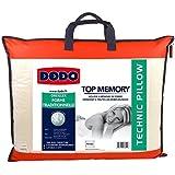 Dodo Topmemory Oreiller Uni Classique Blanc 40 x 60 cm Synthétique Ergonomique