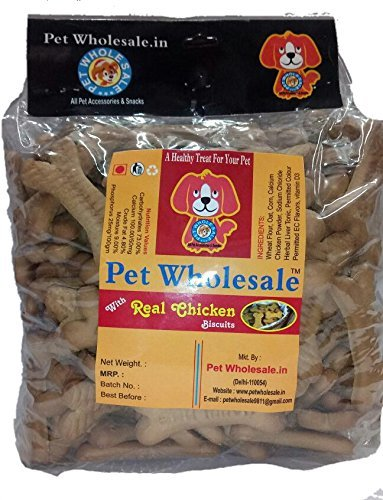 5016b89c218b9 Buy Pet Wholesale Adult Dog Bulk Biscuits Offer, 1 kg (Pack of 15) Online  at Low Prices in India - Amazon.in