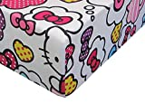 What's Not To Love Hello Kitty 100% Polyester (FITTED SHEET ONLY) Size FULL Girls Kids Bedding