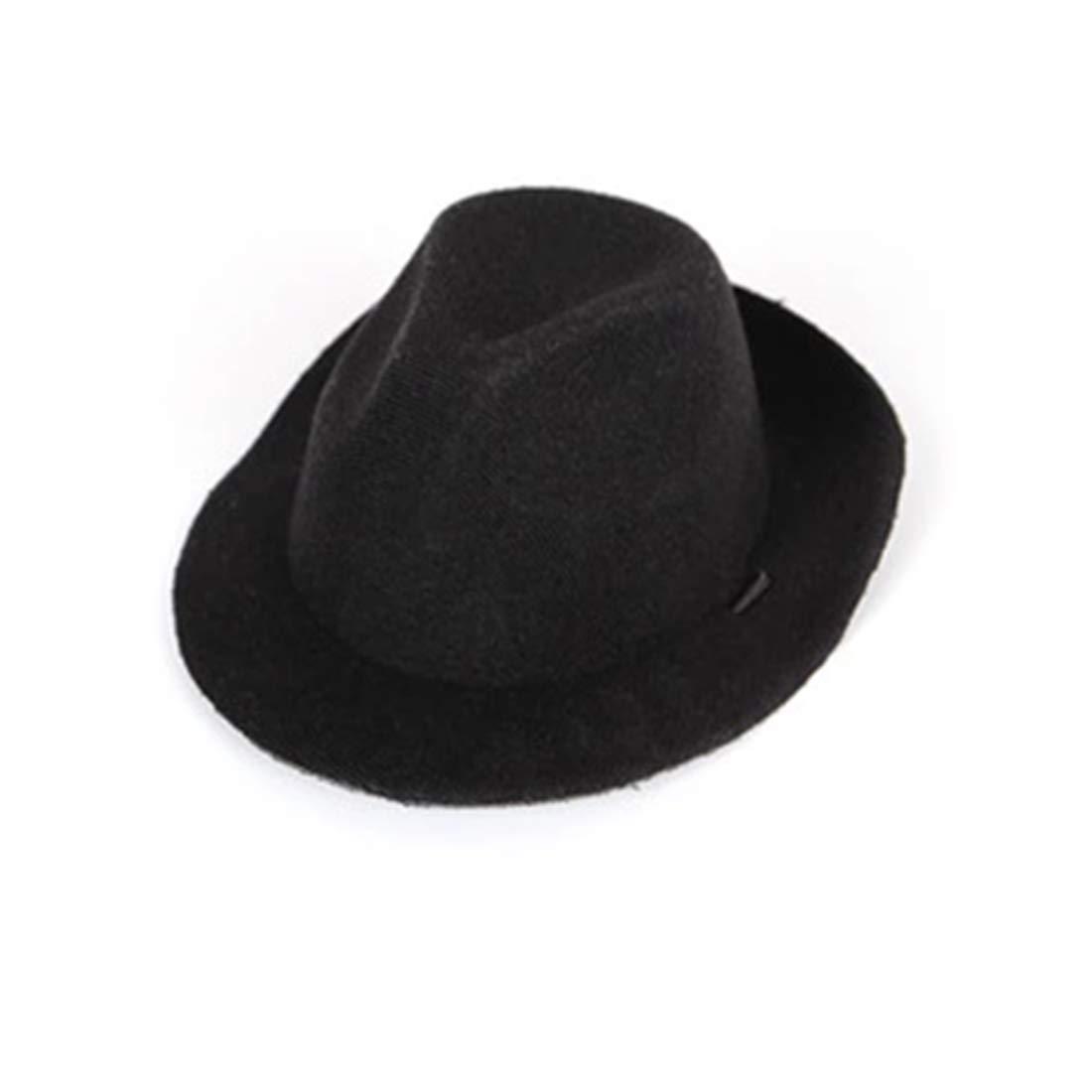 Cowboy hat black AdjustableWENNEW Pet Bounteous Cowboy Hat Magic Hat Gege Witch Hat Odd Halloween Dog Hat (color   Cowboy hat Beige, Size   Adjustable)