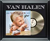 Van Halen 1984 Gold Record Award Autographed Framed