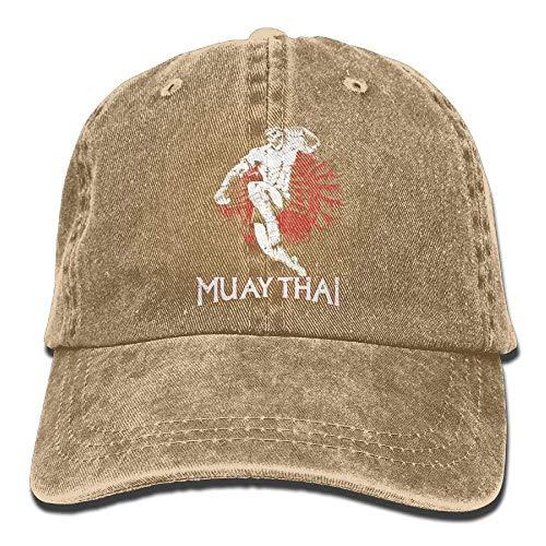 kslae Gorras Grandes Muay Thai Skull Denim Hat Mujeres Ajustables ...