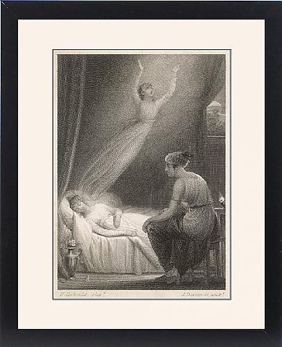 Framed Print Of Soul Leaving Body by Prints Prints Prints